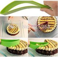 2015 New Baking tools birthday cake scraper cake knife bread cutting knife wholesale 5PCS/LOT free shipping color random
