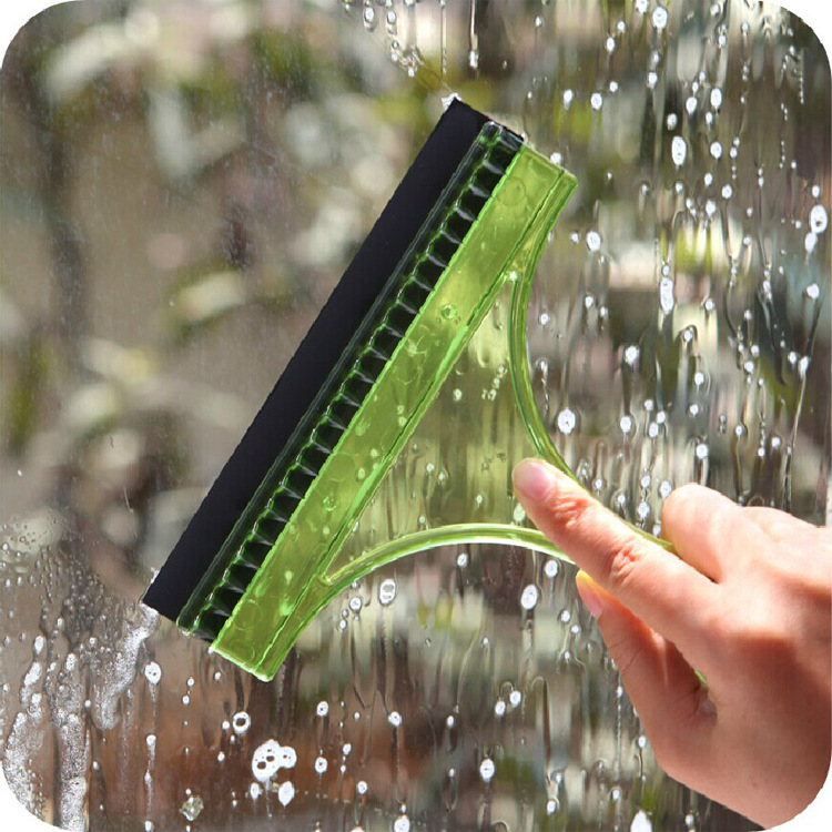 Glass cleaner window cleaning scraper Brushes Car Auto Windshield Wash Clean Glass Window Water Dry Handy Brush Wiper Cleaner(China (Mainland))