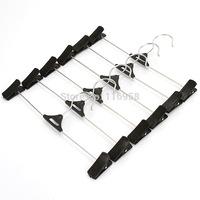Home boutique belt clip pants hanger rack pants folder home essential J0557