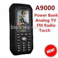 Original Power Bank Cell Phone Large Capacity Battery Loud Speaker Flashlight TV Outdoor Mobile Phone Russian Keyboard K28 B30