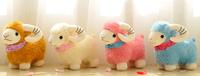 Chinese traditional mascot Plush fabrics goat Year of the goat Chinese national stuffed goat New arrive