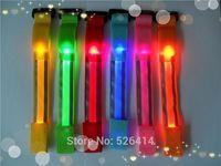 Hot Sale Glowing Bracelet LED lights Flash Bracelet Wrist Ring Nocturnal Warnings Ring Running Gear Glowing Armband
