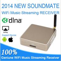 High quality Car MP3 player Fashion Brand WIFI music box SoundMate M2 HiFi music player Support Ape/Flac/Wma/Wav songs Airmusic