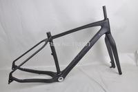 2015 carbon fiber snow bike ,26er  fat frame carbon  snow frame for sale