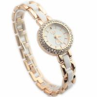 Elegant Popular Fashion Dress Quartz Wristwatches New arrival Stylish Steel Rhinestone Decoration Ladies Girls Bracelet Watches