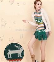 Hot Autumn winter Scarf women Lady Long 175-230CM Wool Pashmina Warm Knit Hood Cowl Winter Neck Wrap Scarf Shawl free shipping