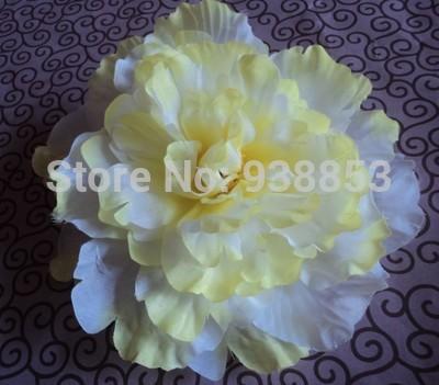 300pcs16cm 11colors Artificial Silk Simulation Flower Head Rose Camellia Peony Flowers Wedding Decor ZH10 free shipping(China (Mainland))
