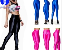 Free Shipping Women Capri YOGA Running Pants High Waist Cropped Leggings Fitness S-XL Outdoor Fun & Sports,50pcs/lot wholesale!