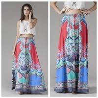 Bohemia  Women's Tribal Boho Maxi Skirt