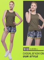 Mallas para correr mujer woman quick dry sport vest elastic fitness sport fitness yoga running ves tsport clothes woman running