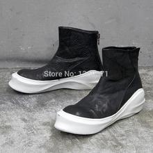 Оуэн мужские ботинки прилив свободного покроя кожа мужские сапоги обувь спорт кроссовки марки сапоги