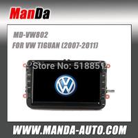 Manda 2 din car radio for Volkswagen TRANSPORTER/ Bora CUPRA/ Sagitar/ SHARAN in-dash car dvd  player auto parts