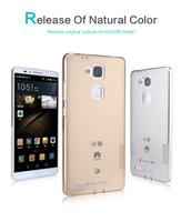 For Huawei Ascend Mate 7 ultrathin 0.6mm TPU case, Original NILLKIN nature TPU transparent case For Huawei Ascend Mate 7