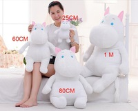 EMS free shipping super cute soft plush large white Moomintroll toy,Muuminpeikko from Moomin valley