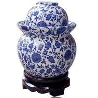 Small Jingdezhen Lead-Free Ceramic Porcelain Pickle Vegetable Jar