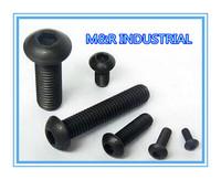 M3*4 M3x4 100pcs iso7380/DIN7380 Hexagon socket button head screw /BOLTGrade 10.9 FASTENER