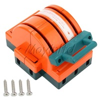 3P 100A Disconnect Switch Double-Bladed Knife Switch Insulation Resin Handle
