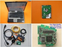 Top Selling D:3.45.40 P:54.03 for BMW ICOM A2+B+C Diagnostic & Programming Tool 500G HDD 4G Laptop D630 Ready to Work DHL Free