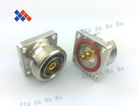 5PCS/lot RF coaxial 7/16 DIN - K square plate four hole connectors Free Shipping