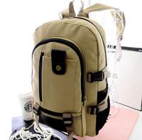 Fashion Vintage Large Backpack Women Shoulder Bag Men Canvas Backpack Multi-Color Leisure Travel Bag Unisex Casual Sport Bag644e