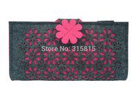 Women Fashion Clutch Wallets Multi Case & Colors Ladies Long Purses Flower Pattern