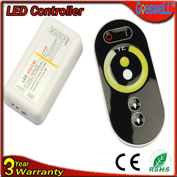 RGB контролер Color temperature controller DC12/24v 8A RF LED RF color temperature controller samsung me7r4mr