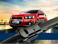 """Top quality Auto accessories Soft Rubber WindShield car Wiper blade blades 2pcs/PAIR 26"""" 15""""  for chevrolet aveo"""