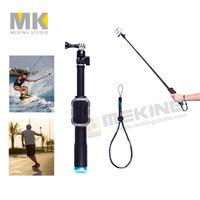 New GoPro Remote Pole 98cm Handheld Monopod Tripod selfie with Wifi Remote Housing Case for GoPro Hero 4 3+ 3 2 Sport Camera