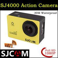 2014 Hot SJCAM WiFi Version SJ4000 1080P Full HD GoPro Camcorder Style Extreme Sport DV Action Camera Diving 30M Waterproof