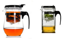 Free Shipping 2014 New Style 500ml Glass Teapot with Original Packing Box Office Tea Kettle Integrative