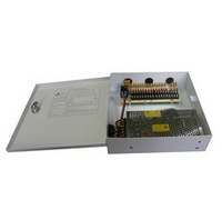 18CH 20A 12V DC Multichannel CCTV Camera Power Supply Distribution Box 110/220V AC Input for Project and school