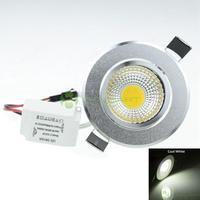 3W LED COB  240LM  6000-6500K   White  Light LED Ceiling Light  Led Down Light