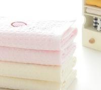 50*25cm Baby kids bath towel 100% Cotton !! Free Shipping children's bathrobe baby wash cloth cute bear wholesale baby washcloth