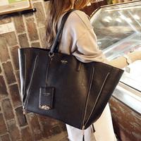 Formal women's handbag big bags 2014 shoulder bag fashion large capacity female bag messenger bag