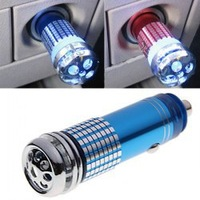 Car Auto Air Anion Purifier 12V Mini Fresh Eliminator Car Oxygen Bar Car Decoration