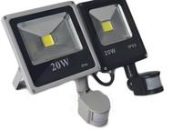 PIR Motion Sensor 20W Waterproof LED Flood Light Lamp Spotlight Outdoor Lighting White LED Floodlight