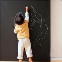 Chalk Board Blackboard Stickers 45x200CM Removable Vinyl Draw Decor Mural Decals Art Chalkboard Wall Sticker For Kids Rooms