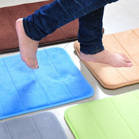 40*60cm Absorb Memory Foam Carpet Doormat Anti-Slip Rug Mat Home Decoration