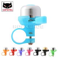 CATEYE Cycling PB-1000 Copper Horns Bike Handlebar Ring Bell Horn MTB Mountain Bike Copper Horns Cycling Ring Bells ,8 Colors