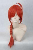 [wamami] 101# Adult Straight Long Wig Anime Gintama kamui Cosplay Man/Woman Plaits Wig
