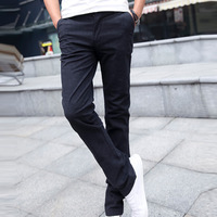 2015 new winter pants are Korean men's fashion leisure trousers thicker version honest real sense of male casual trousers