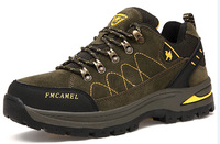 2015 winter mens top quality hiking shoes casual active air-breathing waterproof wear resistance climbing trekking walking shoes