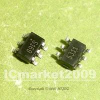 100 PCS AS169-73LF AS169-73 AS169 S169 SOT23-6 PHEMT GaAs IC SPDT Switch DC-2.5GHz