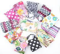 New Mic Nylon Foldable Waterproof Storage Eco Reusable Folding Pouch Reusable Shopping Bags 53 x37cm