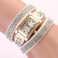 New fashion design leather strap 11 color ladies quartz watches Women Dress Watches Quartz Wristwatch Reloj Mujer relojs XR116