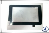 """black/white Original New 7"""" inch DNS AirTab M76R Tablet touch screen LCD digitizer Touch panel Sensor Glass Free Shipping"""