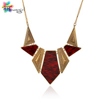 Statement Necklaces Uk Fashion Lover Office Outfit Fashion Accessory Vintage Engagement Geometrical Necklaces for women [nT386]