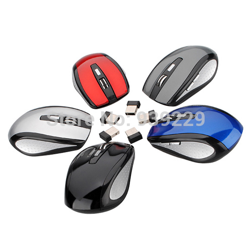Brand New Wholesale Price 2 4GHz High Qulity Wireless RF Optical Mouse Mice USB 2 0