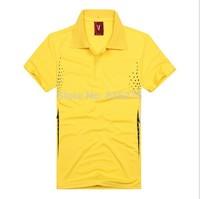 2015 school uniform solid color lapel casual polo shirt jersey T-shirt dress Ban DIY custom printed logo printed numbers