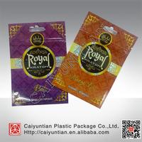 Hologram aluminum foil kratom herbal incense bag, kratom capsule potpourri ziplock bag